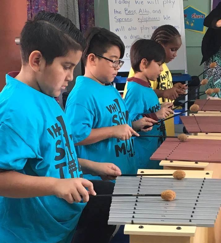 Long-Term Program for Musical Instruction in the District Launches at Natchaug and Sweeney Schools Through the VH1 Save the Music Foundation and the Jeffrey B. Ossen Family Foundation Thumbnail Image