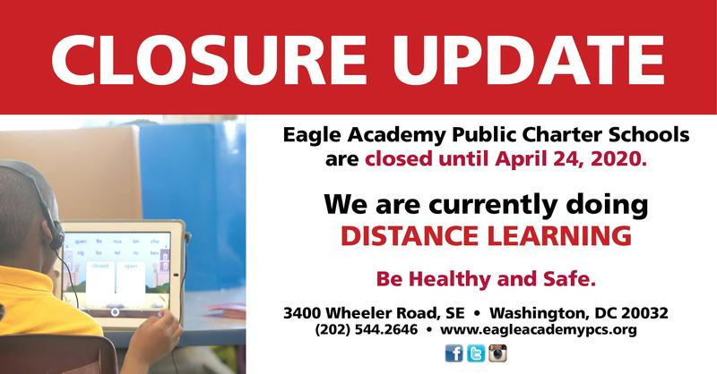Eagle Academy Public Charter School-Update 3-23-2020 Featured Photo