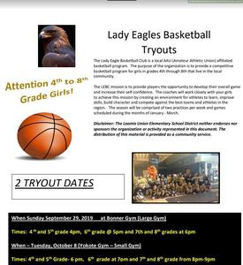 picture of basketball  and eagle