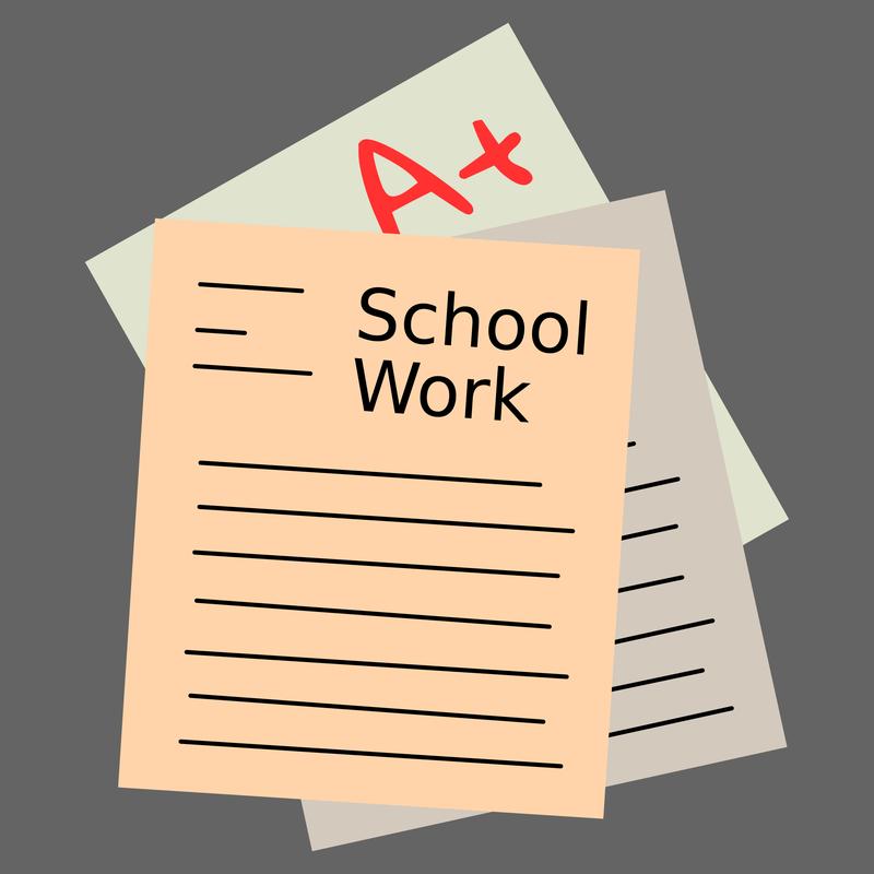 SchoolWorkClipArt