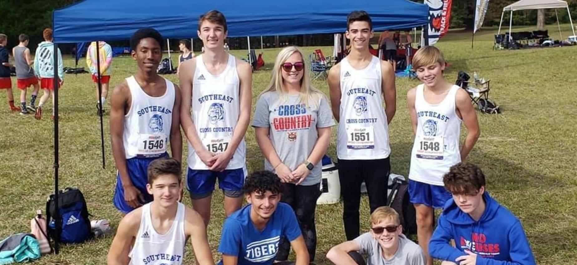 District Winning Cross Country Team