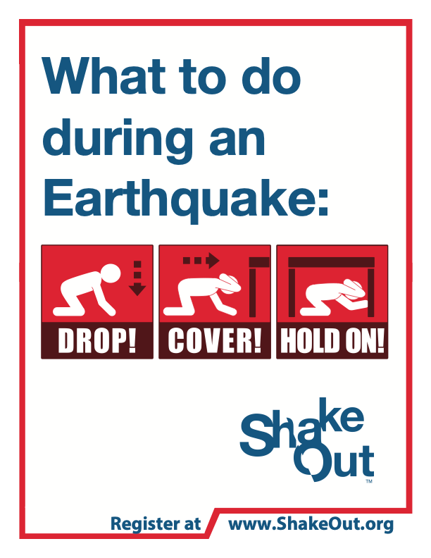 The Great California ShakeOut Featured Photo