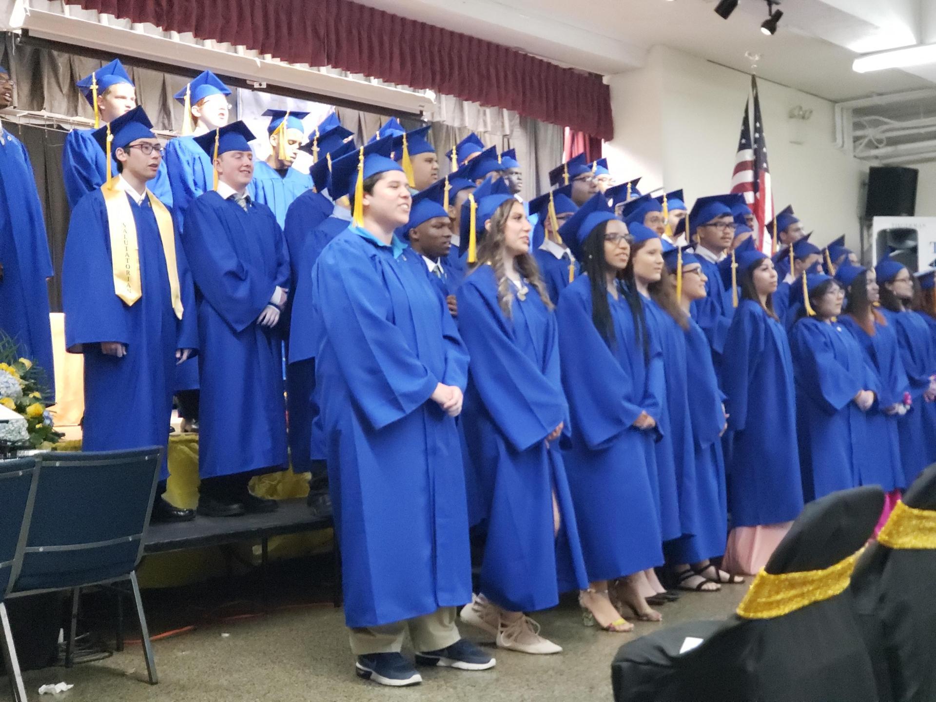Tiegerman Graduation