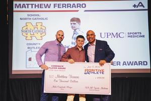 Positive Athlete, Matthew Ferraro