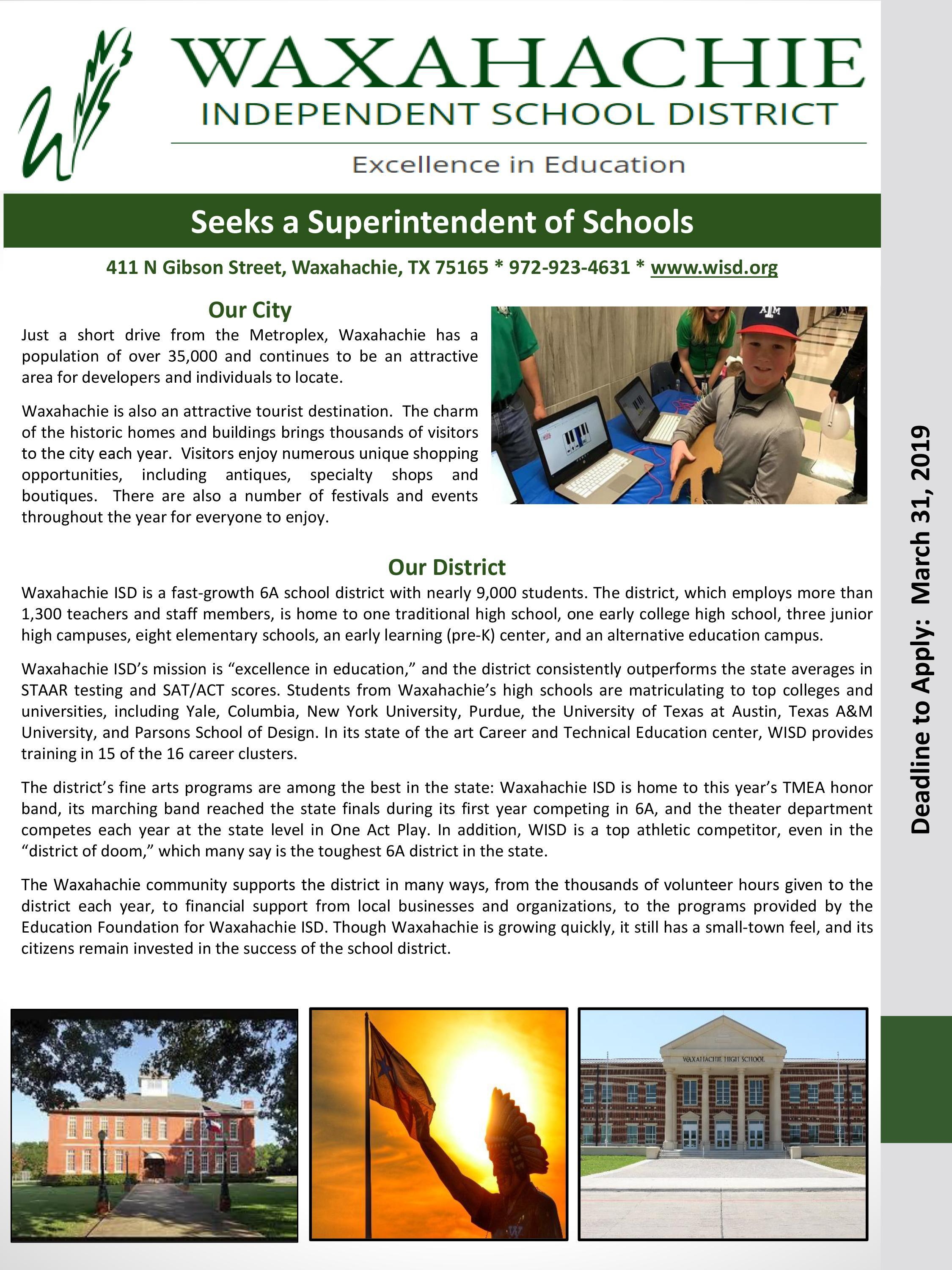 Superintendent Search Qualities page 1