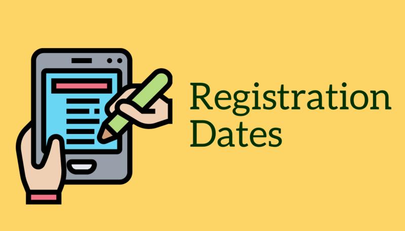 Registration Dates