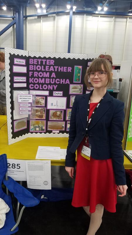 Natalie Smith, 8th-grade Magnolia Junior High