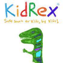 kid rex search engine logo
