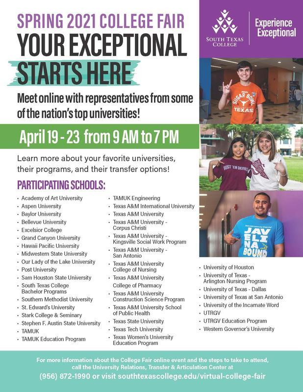 Virtual College Fair Featured Photo