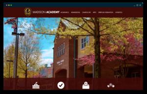 Madison Academy homepage