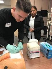 Learning wound care