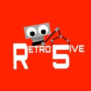 Retro 5ive Robotics Team Logo
