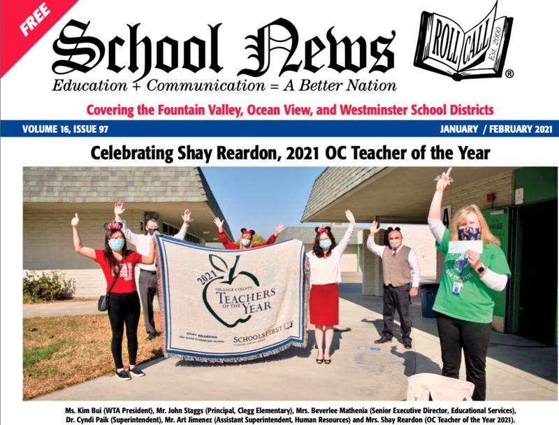 WSD School News January February 2021