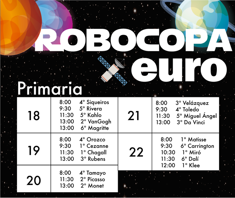 Semana de Robocopa Primaria Featured Photo
