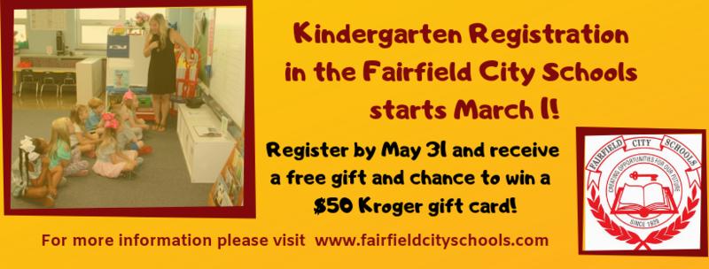 FCSD Kindergarten Registration for 2019-20 Starts March 1 Featured Photo