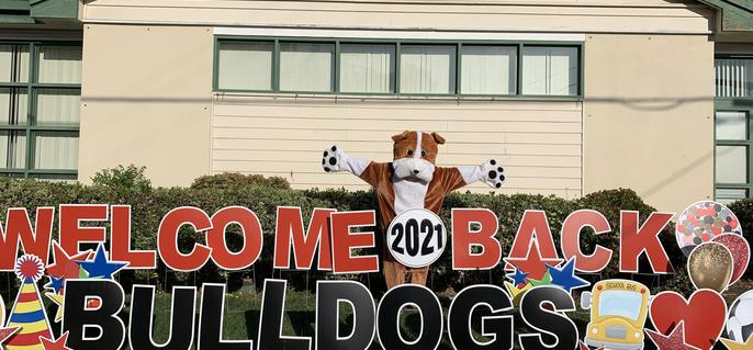 Welcome Back Bulldogs April 19, 2021