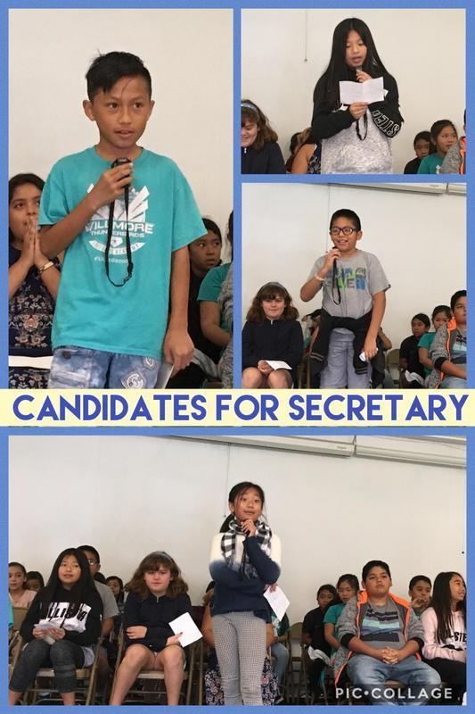 Candidates for Secretary