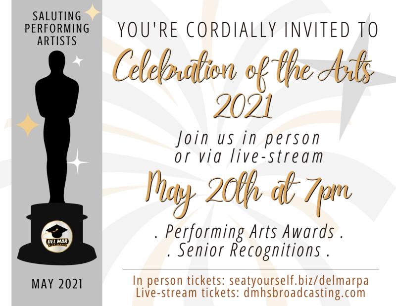 celebration of the arts may 20