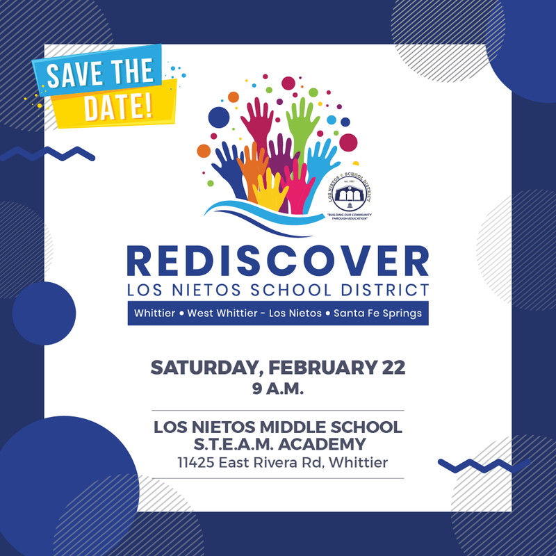 Join us at Rediscover Los Nietos School District Featured Photo