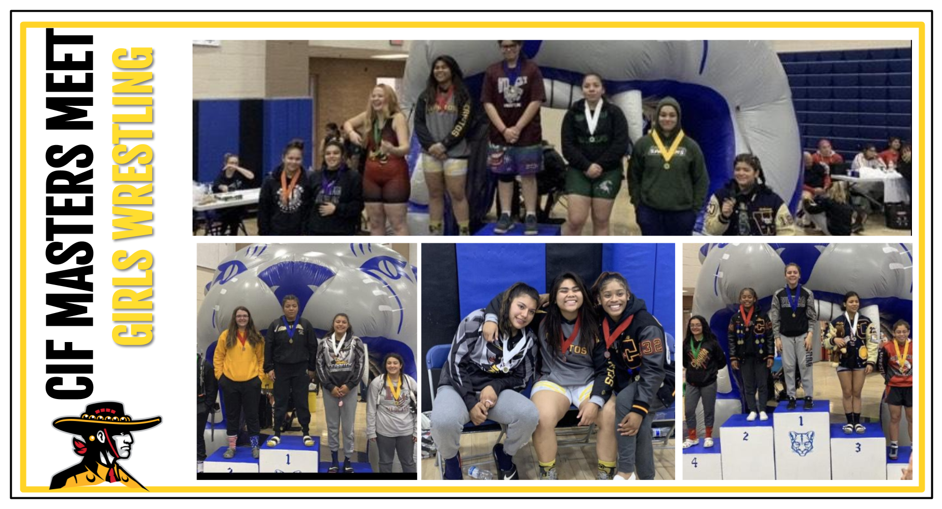 CIF Masters Meet Girl's Wrestling