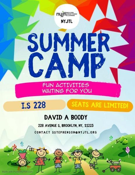 NYJTL Summer Camp
