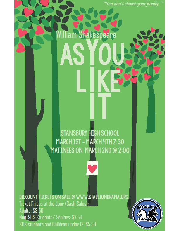 As You Like Ir playbill
