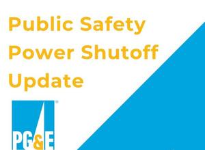 PGE Power Shutoff Logo