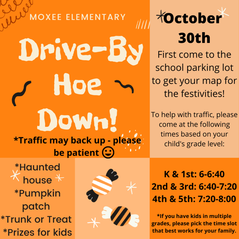 Drive-By Hoe Down! October 30th Featured Photo