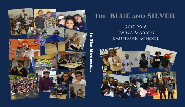 The 2017-2018 Blue and Silver Yearbook