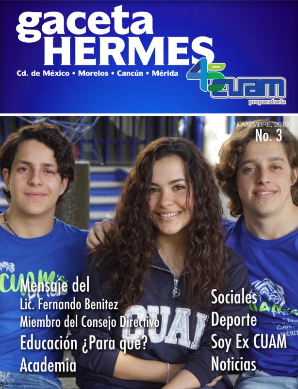 Gaceta Hermes CUAM Noviembre 2019