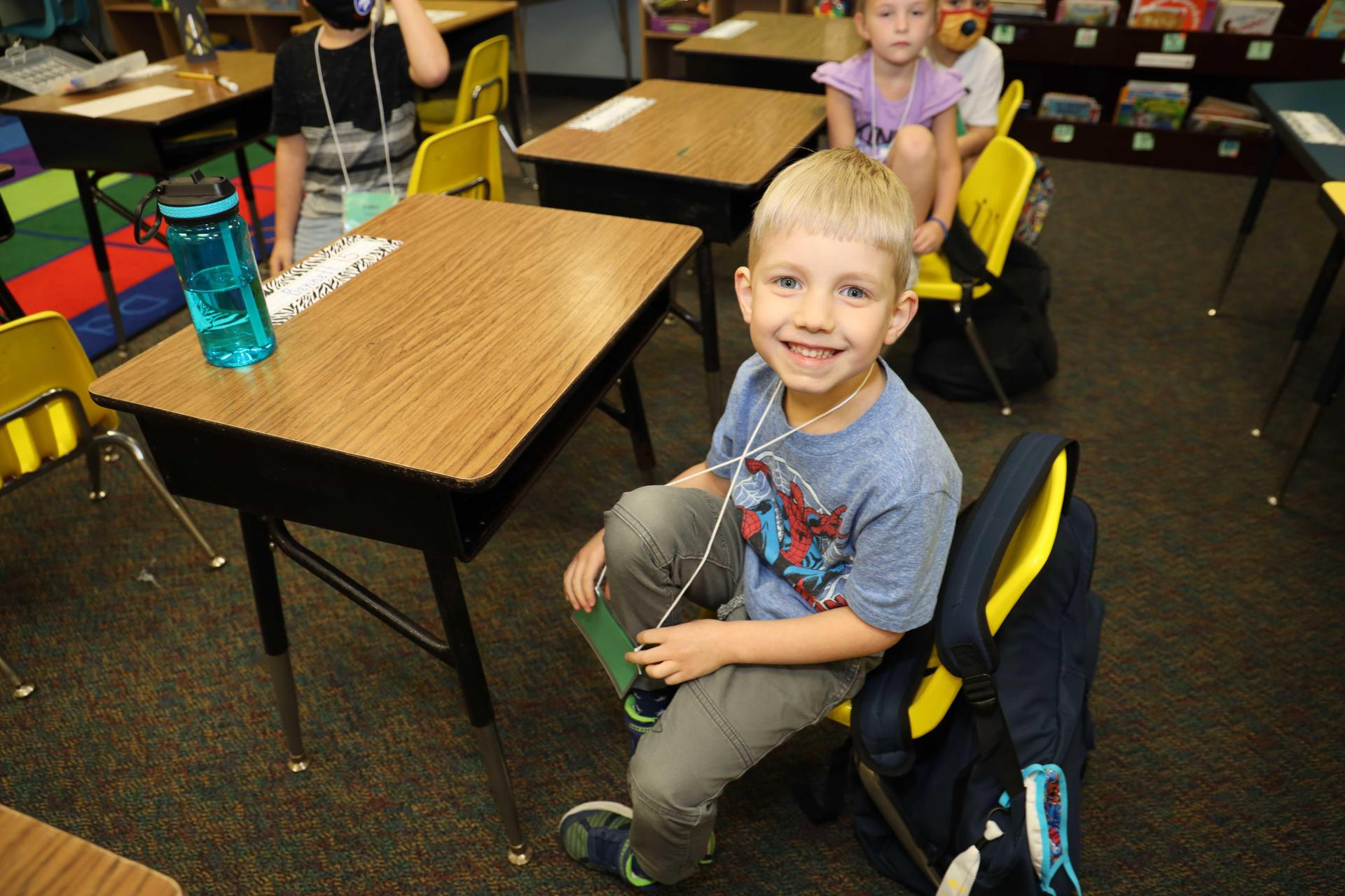 Dabbs elementary K and 1st graders