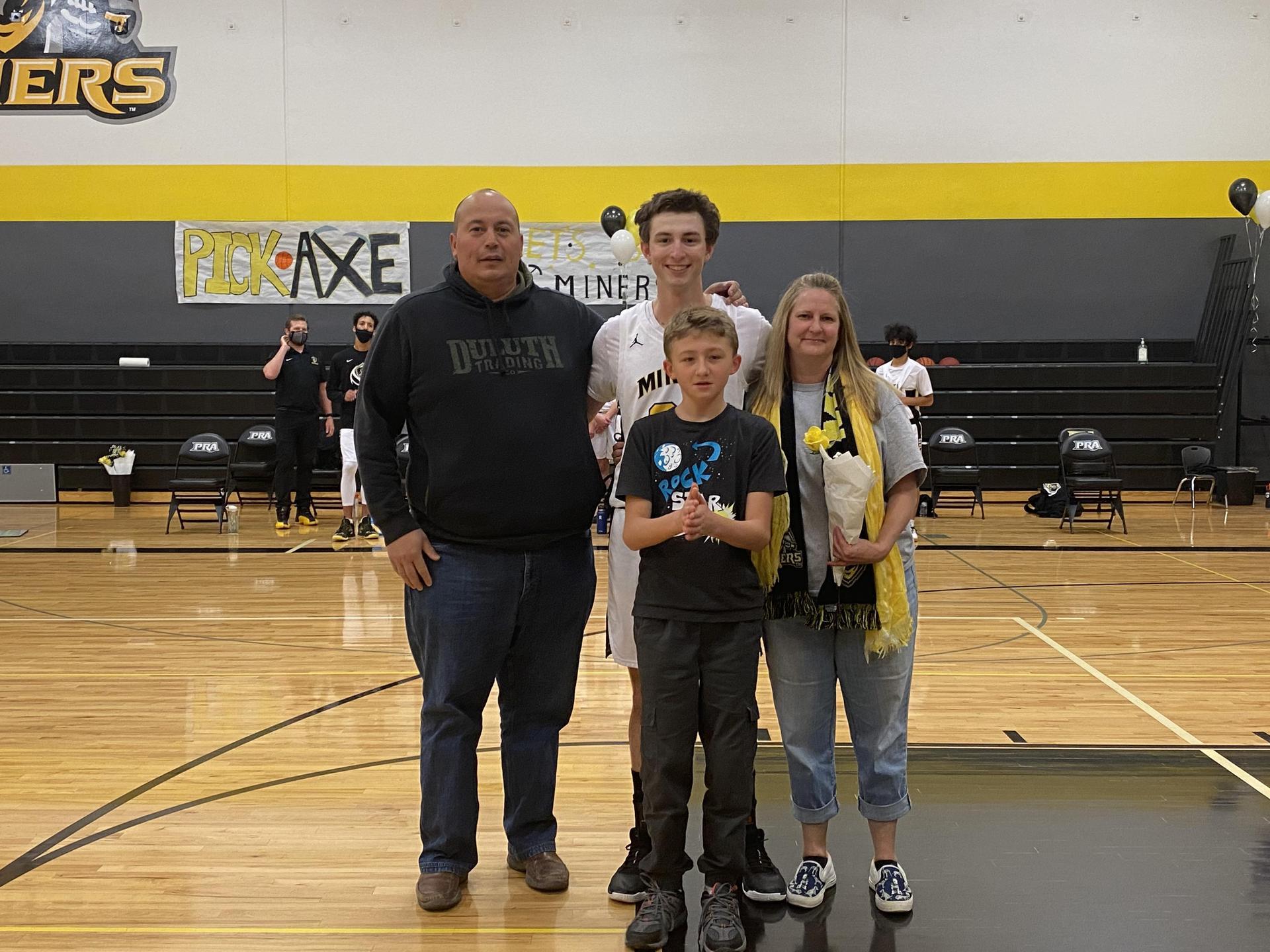 Harley Clark and Family