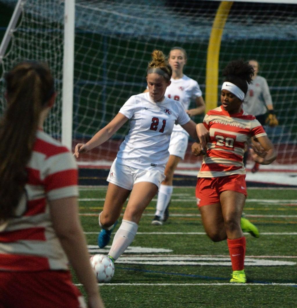 Varsity Girls' Soccer vs Fox Chapel - 091317