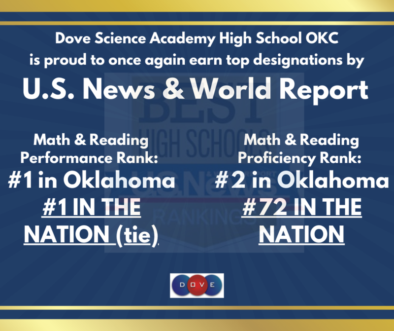 Dove Science Academy High School OKC Recognized by U.S. News & World Report Featured Photo
