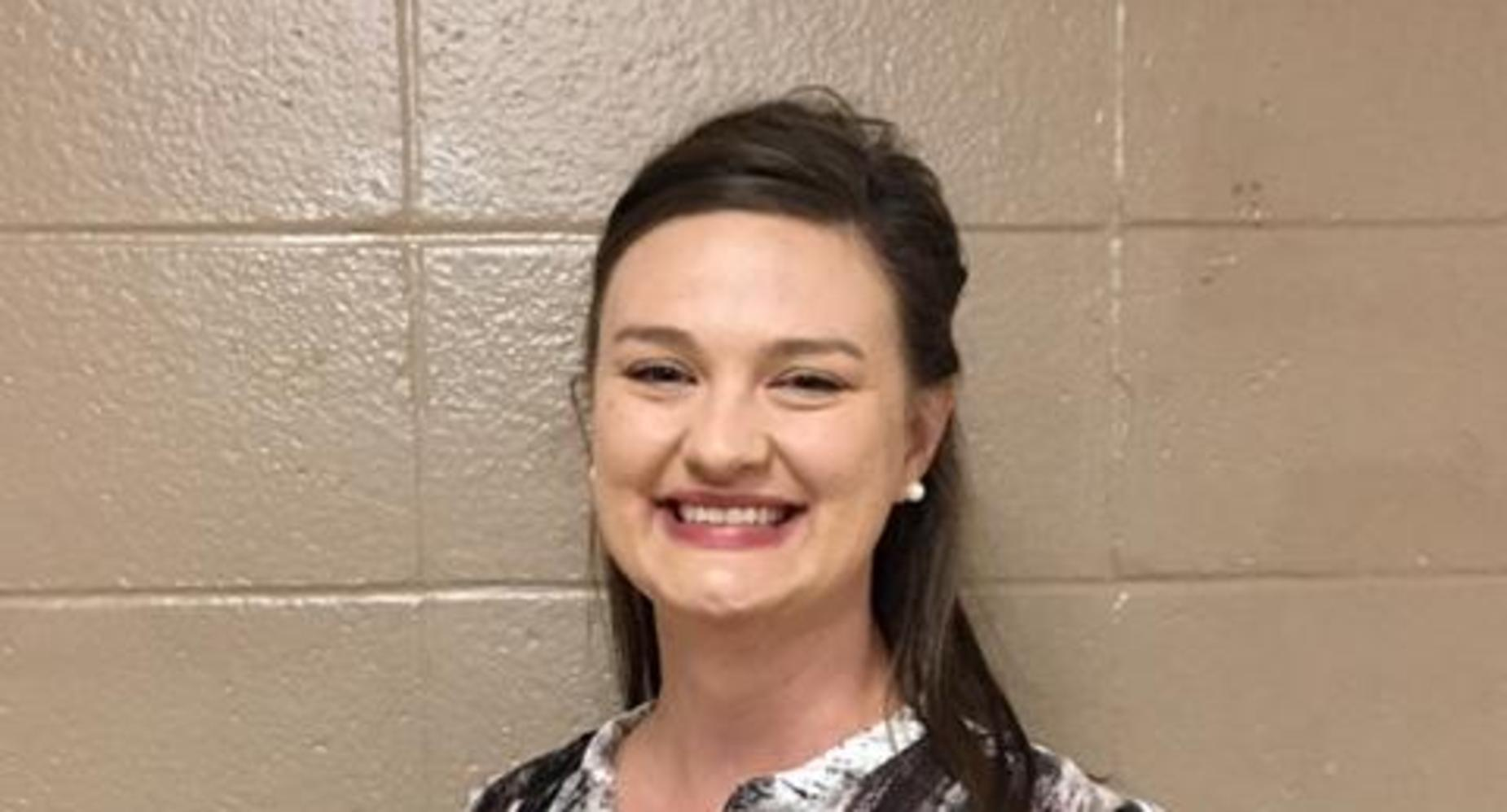 Lauren Brown 2019-2020 EJHS Teacher of the Year