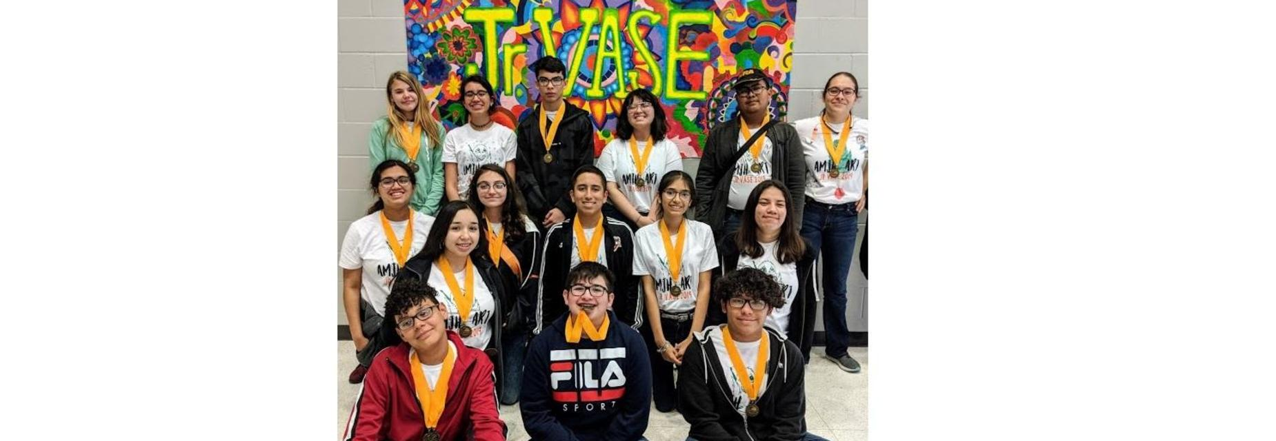 2019 Jr VASE Art competitors brought home 16 medals!