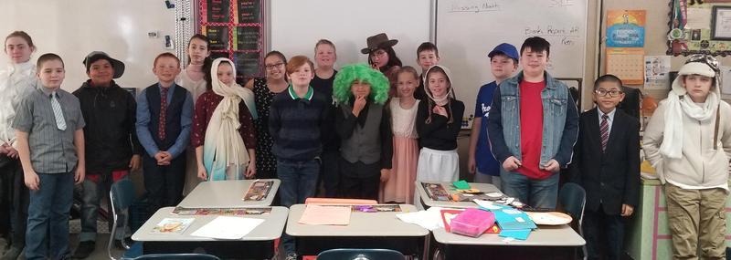 Mrs. Burhan's Class Sharing Biography Reports