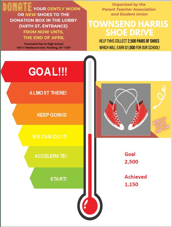 Shoe Drive flyer