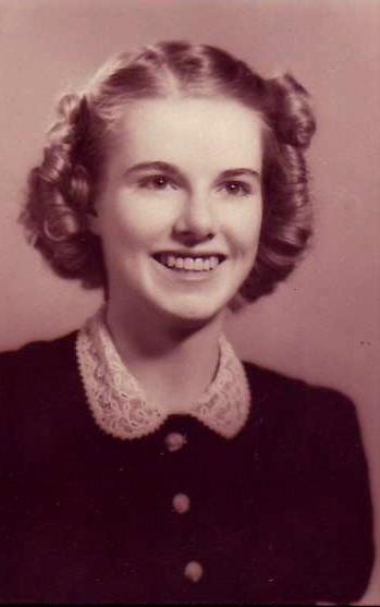 Margaret Louise Sawyer in her 1940 graduate photo