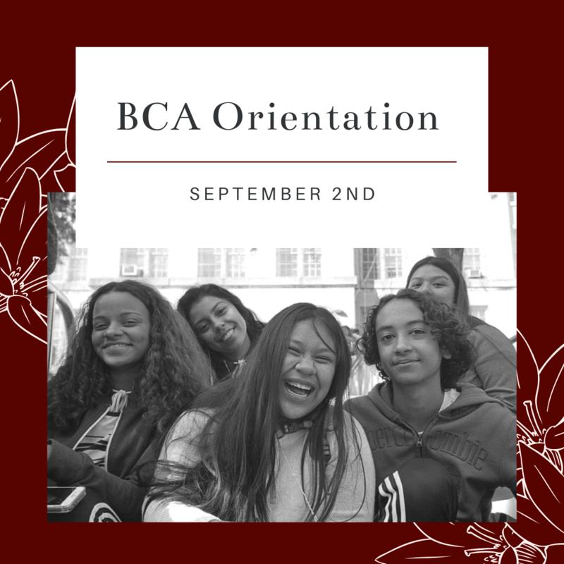 BCA Orientation Featured Photo