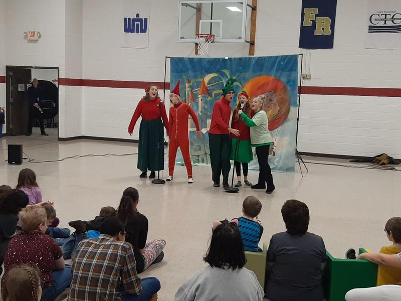 Stage Right production at Clairview School.