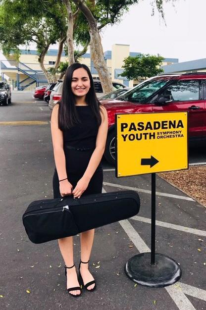 Violinist Sascha Portero '21 has earned a spot in PYSO Featured Photo