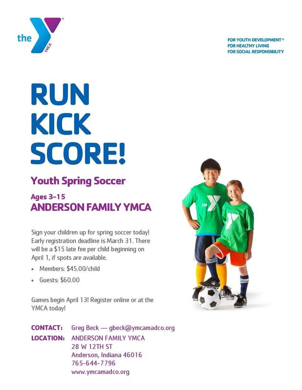 YMCA Youth Spring Soccer Thumbnail Image