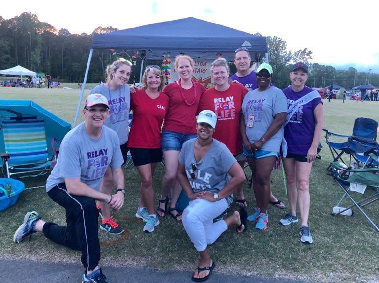 2019 Carrollton Relay for Life team
