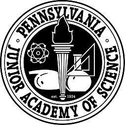 PA Junior Academy of Science Black and white logo