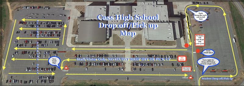 drop off map