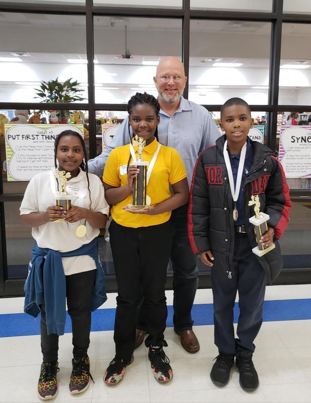 SL Mason Spelling Bee Winners