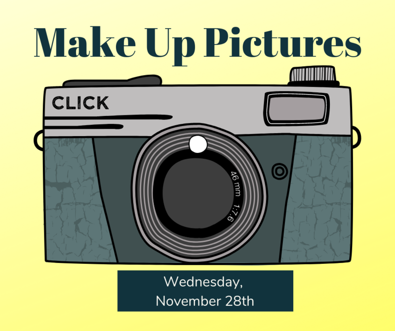camera make up picture day november 28