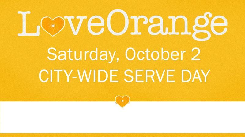 Love Orange Serve Day Featured Photo