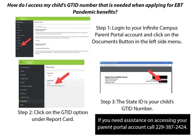 Parents can access student GTID number via Infinite Campus Parent Portal Featured Photo